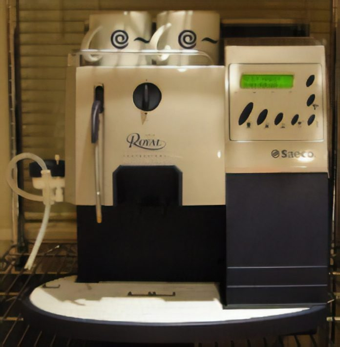 A Superautomatic Coffee Machine