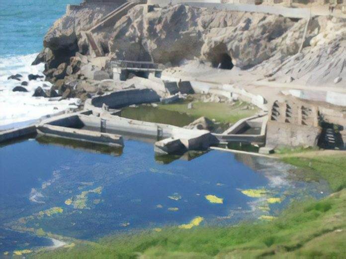 Remains of the Sutro Baths