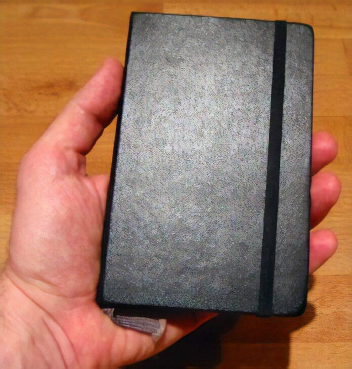 A Moleskine Notebook