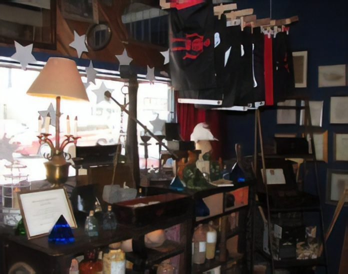 the pirate supply store at 826 Valencia