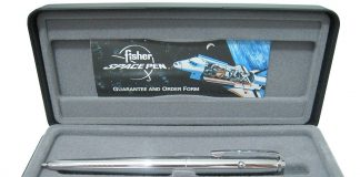 A Fisher Space Pen