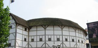 The current Globe Theatre in London