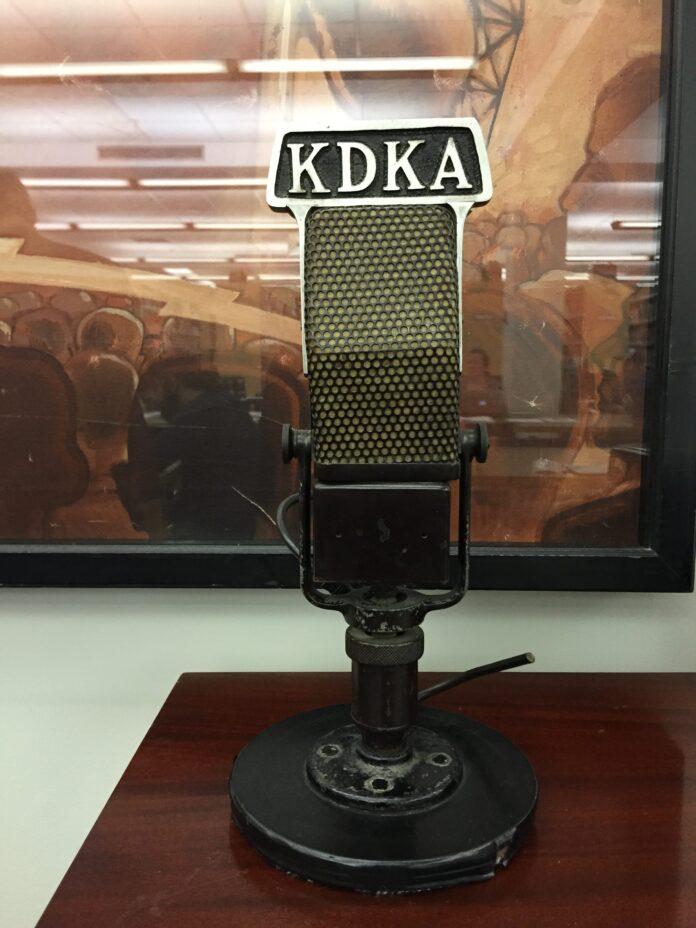 KDKA radio microphone