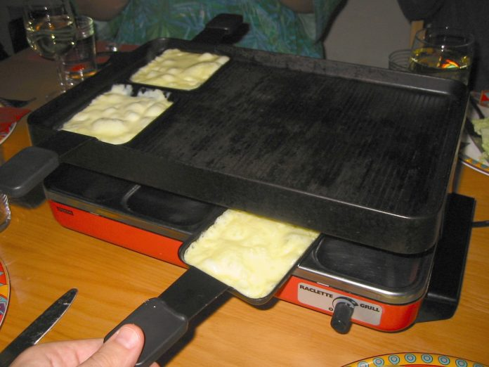 A raclette grill