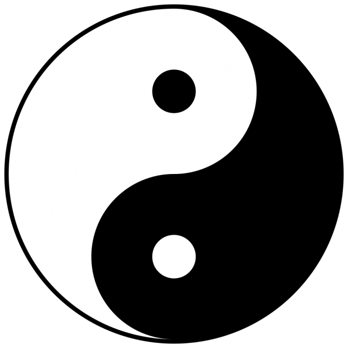 The taijiti, or tai chi symbol