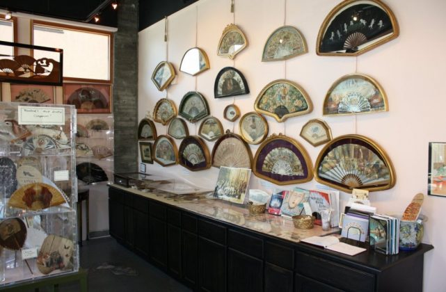 The Hand Fan Museum in Healdsburg, California