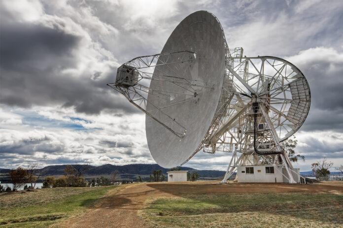 A radio telescope