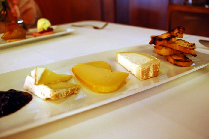 A cheese course