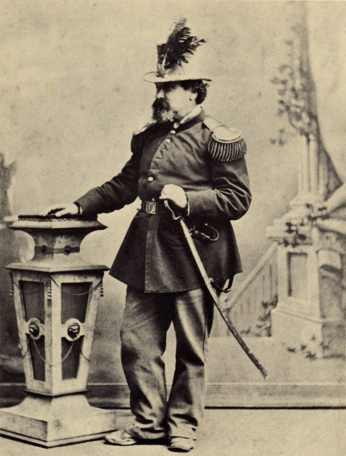 Image of His Imperial Majesty Emperor Norton I, also known as Joshua A Norton.