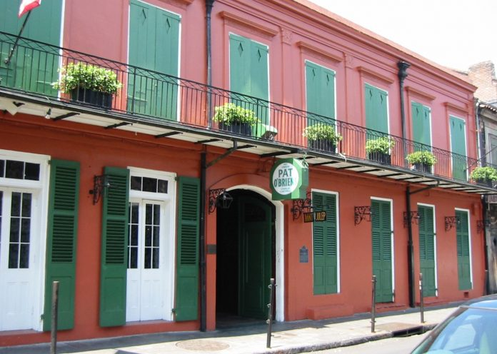 Pat O'Brien's Bar in New Orleans