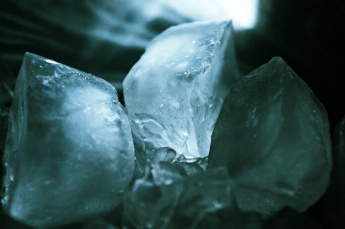 Ice-nine (artist's conception)