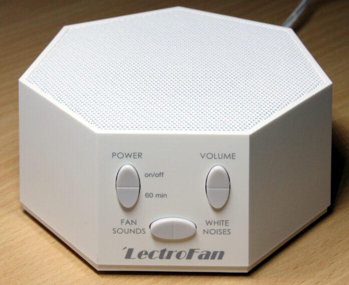 A white noise machine