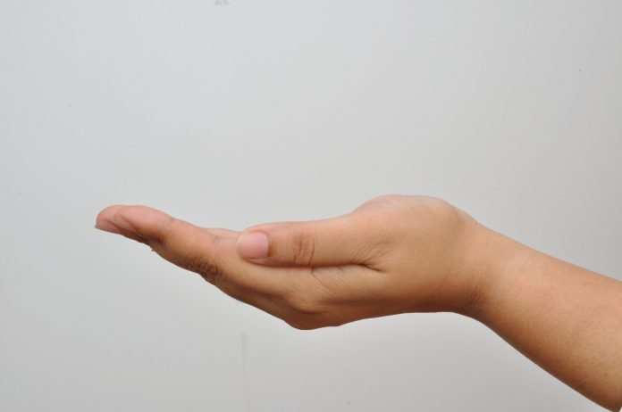 A left hand