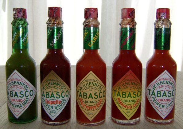Tabasco sauce varieties