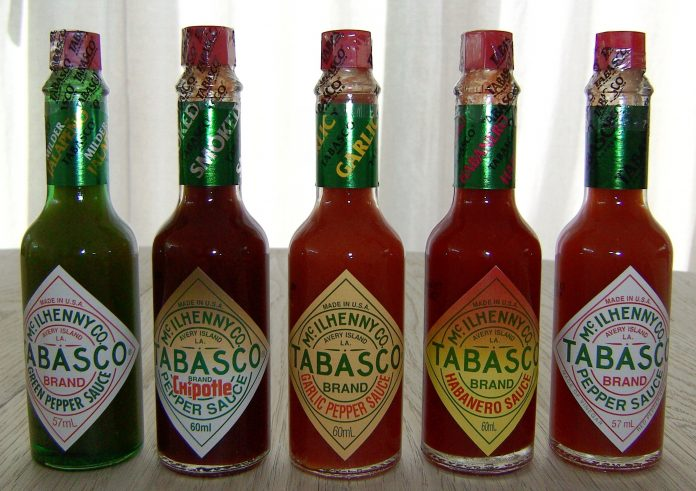 Tabasco sauce varieties