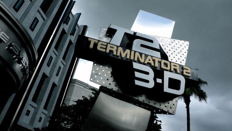 Terminator 2 3D Entrance at Universal Studios Florida
