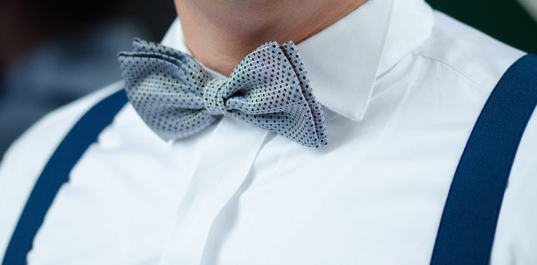 A man wearing a bow tie