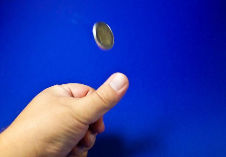 A coin toss