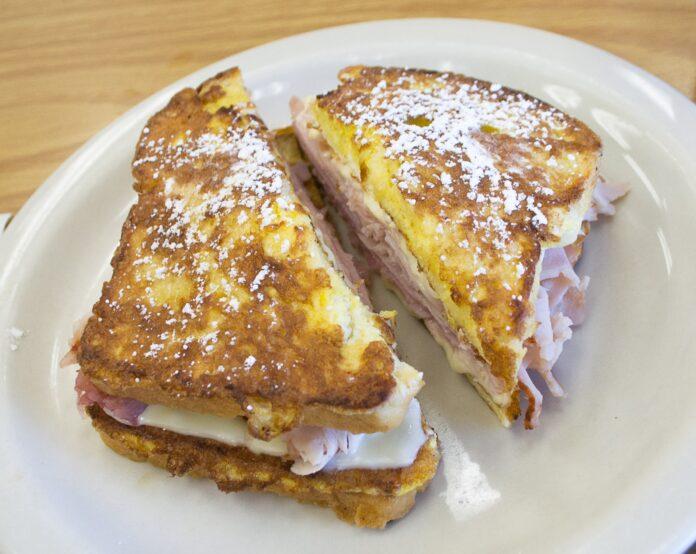 A Monte Cristo sandwich