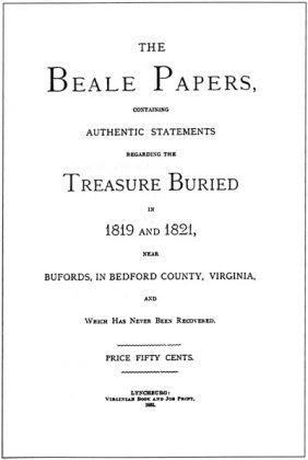Beale Papers cover page