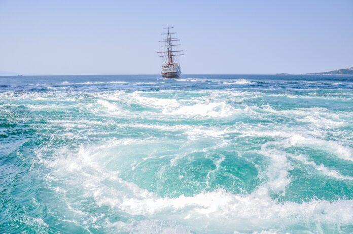 An ocean vortex