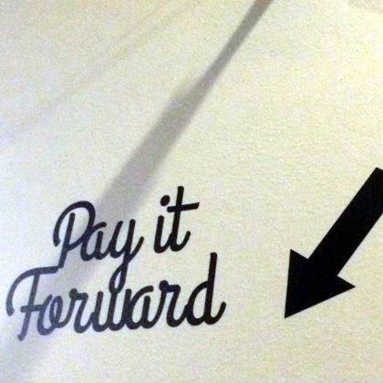 Pay it Forward artwork