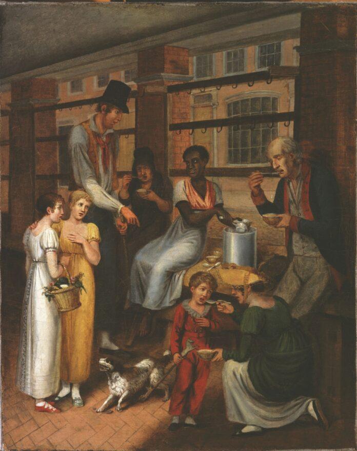 John Lewis Krimmel, Pepper-Pot: A Scene in the Philadelphia Market (1811)