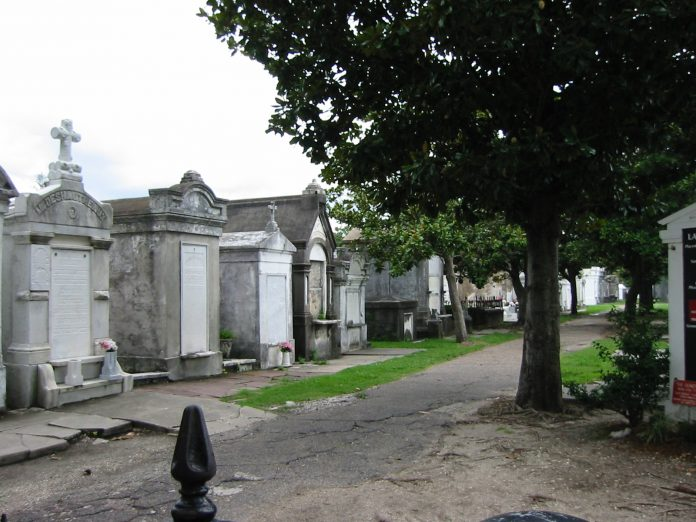 A cemetery in New Orleans