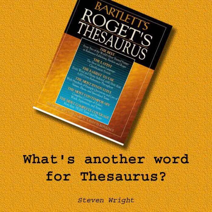 A thesaurus
