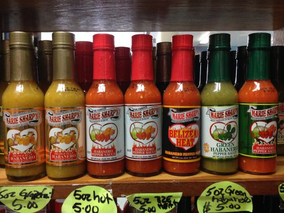Marie Sharp's Hot Sauces