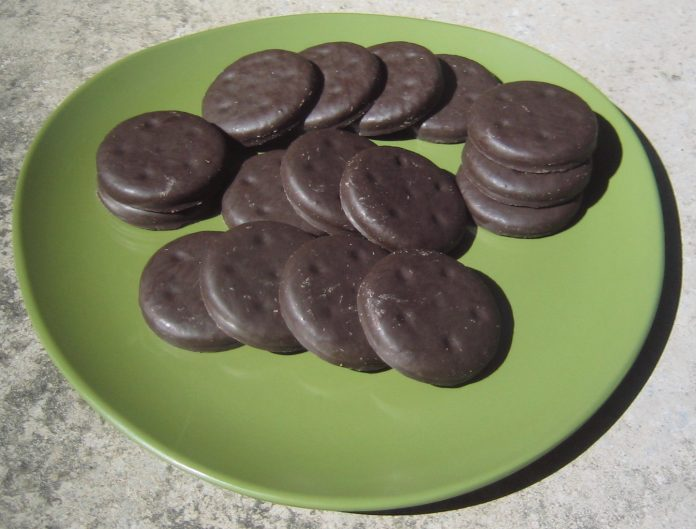 Girl Scout Thin Mint cookies