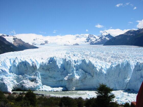 The face of the Perito Moreno glacier in December 2004