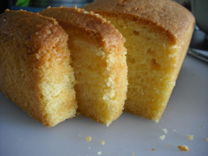 A pound cake