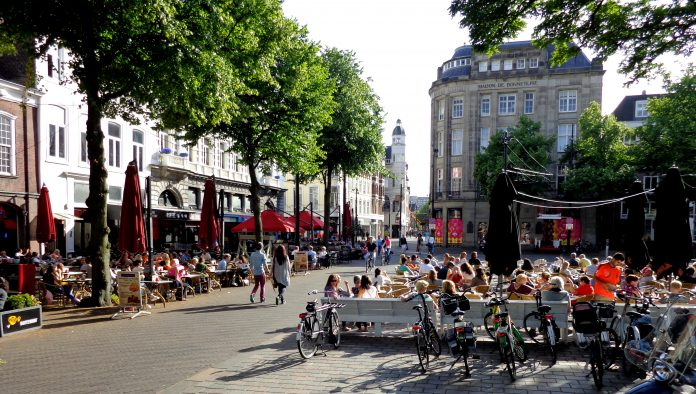 The Hague car-free city center