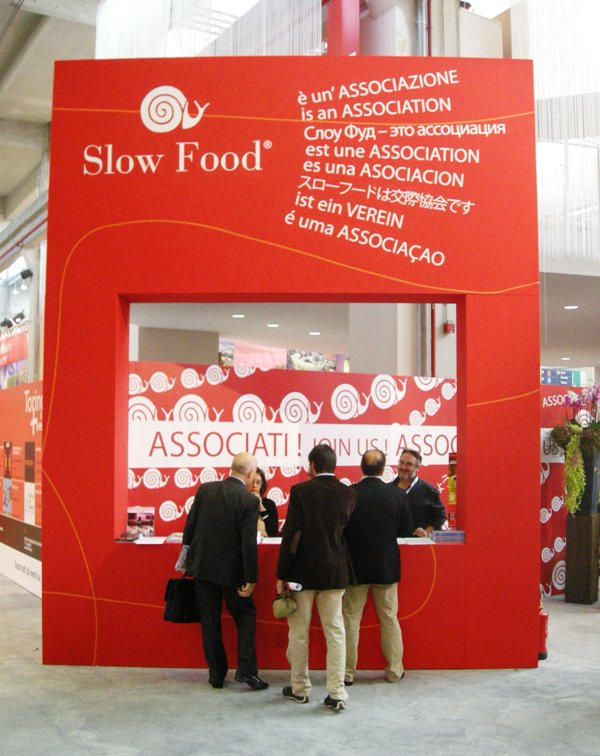 Slow Food information stand