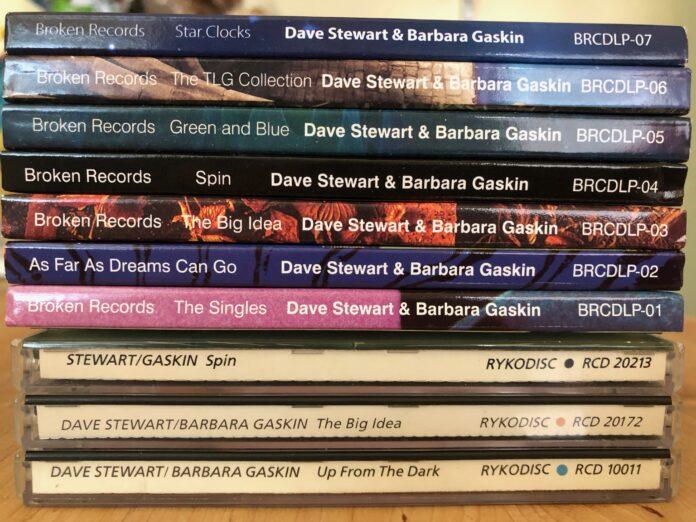 Dave Stewart & Barbara Gaskin CDs
