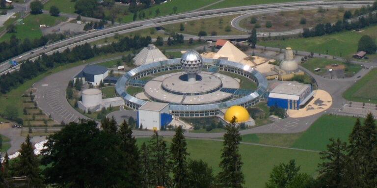 Aerial view of Jungfrau Park