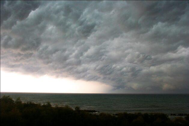 Sirocco Winds over the Adriatic Sea