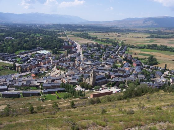The town of Llívia