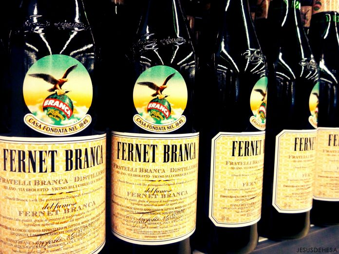 Bottles of Fernet-Branca