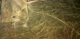 The Condor, one of many figures of the Nazca Lines in Peru
