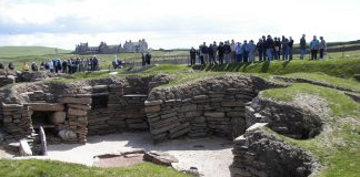 House 8 of Skara Brae
